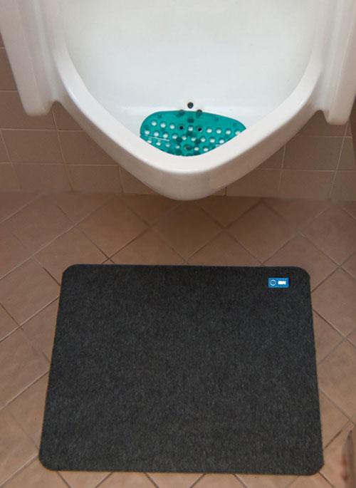 Disposable Urinal Mat Hygolet Direct
